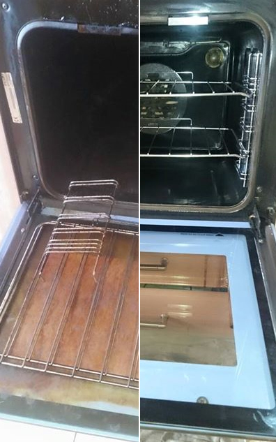 Oven - Before and After